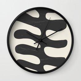 Abstract Plant 2 Wall Clock