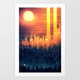 A Thousand Storeys Art Print
