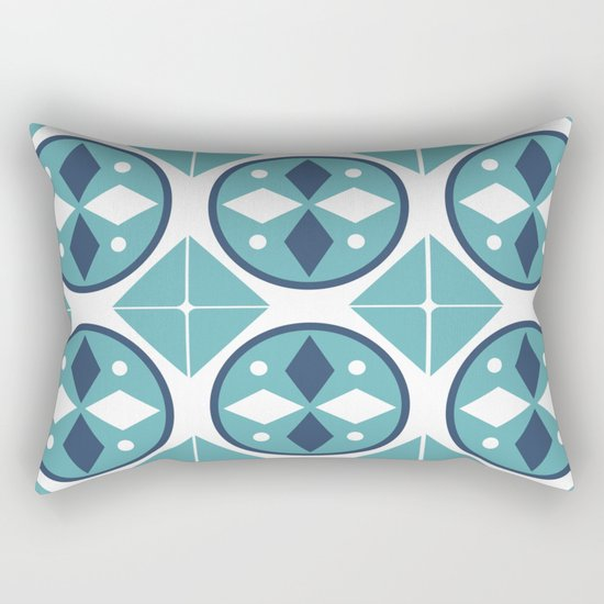 Azulejos Portugal 2 Rectangular Pillow
