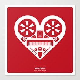 Heartbeat (Valentine's Day) Canvas Print