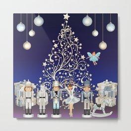 Christmas time - Nutcracker Story on Christmas eve Metal Print