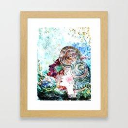 Into the deep Framed Art Print