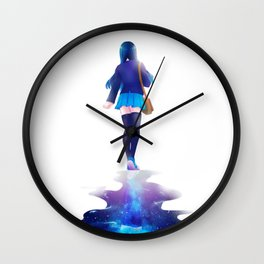 Walk among the stars Wall Clock
