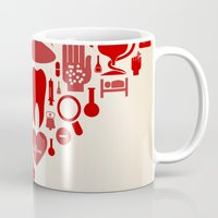 doctor Mugs featuring Doctor by aleksander1
