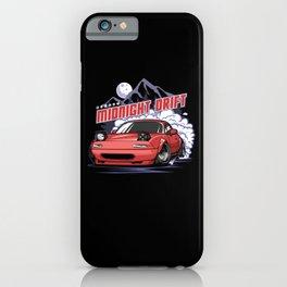 Midnight Drift iPhone Case