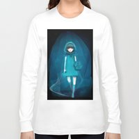 return Long Sleeve T-shirts featuring return someday by imaginary flower