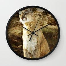 Cougar Wall Clock