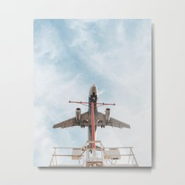 LAX arrivals Metal Print