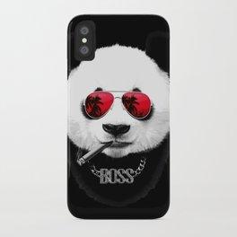 Panda Boss iPhone Case