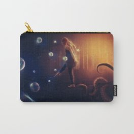 I Live Suspended Carry-All Pouch
