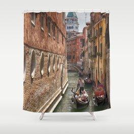 Venice Canal San Marco Shower Curtain