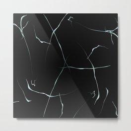Marble Lines Metal Print