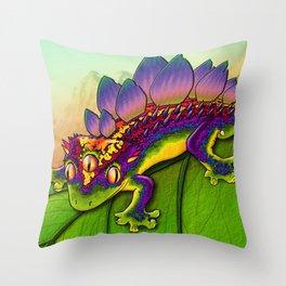 'Kizzsaurus' Throw Pillow