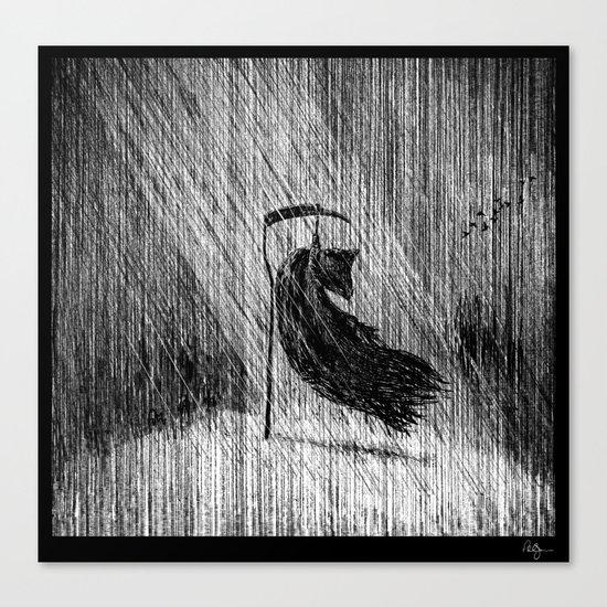 Death of Death Canvas Print