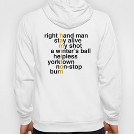 right hand man stay alive Hoody