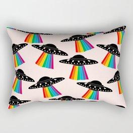 Cute UFO Rectangular Pillow