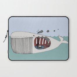 I valfiskens mage Laptop Sleeve