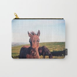 Dartmoor Pony Portrait (2) Carry-All Pouch