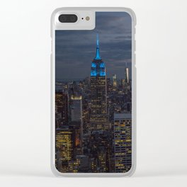 NYC 04 Clear iPhone Case