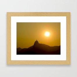 Cristo Redentor (Christ the Redeemer) Framed Art Print