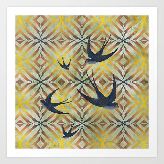 Swoop! Art Print