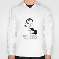 nori Hoodies featuring FREE NORI by mememolly