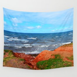 Rolling Waves in East Point PEI Wall Tapestry