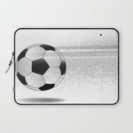 Moving Football Laptop Sleeve