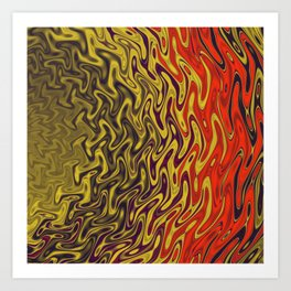 Ripples in Indian Summer Art Print