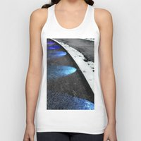 borderlands Tank Tops featuring Borderlands Renewed by Julie Maxwell