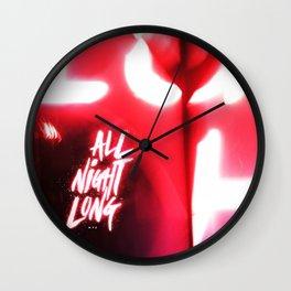 All Night Long NYC Wall Clock