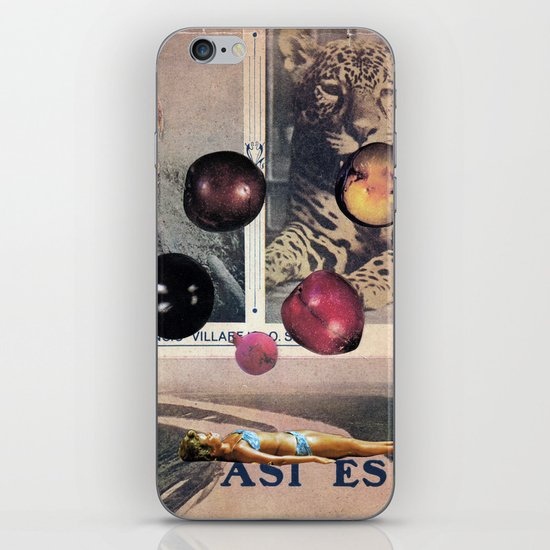 PLUMS iPhone & iPod Skin