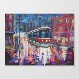 Rainy Nights Canvas Print