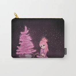 Intercosmic Christmas in Pink Carry-All Pouch