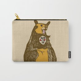 Bear Man Carry-All Pouch