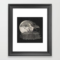 Ocean Moon  Framed Art Print