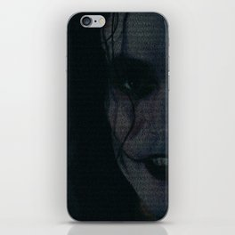The Crow Screenplay Print iPhone Skin