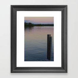 Lake Vermillion Framed Art Print