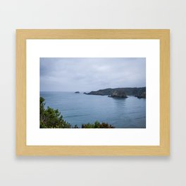 Bewitching Blue Framed Art Print