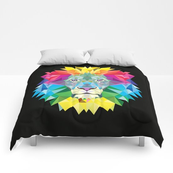 High Color Lion  Comforters