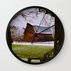 Remnants of a Simpler Time - The Barn Wall Clock