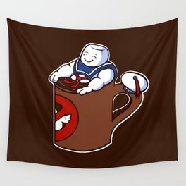 Cup of Stay Puft Wall Tapestry