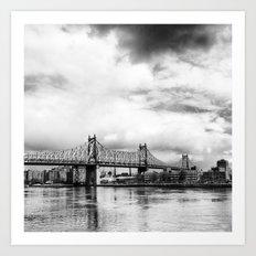 Queensboro Bridge. Art Print