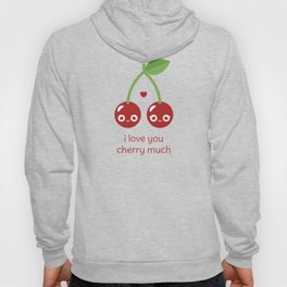 I Love You Cherry Much Hoody