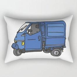 Tricycle Van Threewheeler Transporter Rectangular Pillow