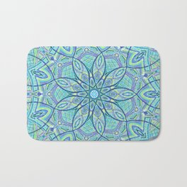 Heart of the Forest - Mandala Design Bath Mat