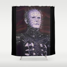 Hellraised Shower Curtain