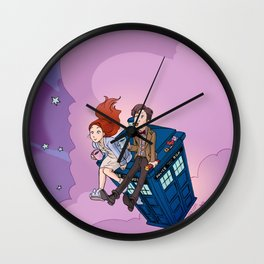 Jammie Dodgers Doctor Who Wall Clock