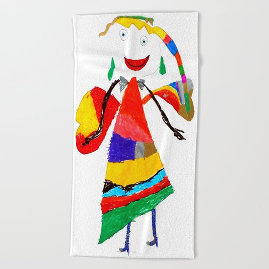fly with me... Beach Towel