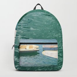 Three Different Boats Backpack
